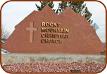 Colorado Flag Stone Sign Metallic Lettering