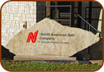 Corporate Sign Sandblasted On Large Rock Paver