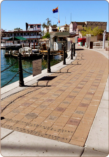 Gift Bricks® Veterans River Walk Engraved Bricks