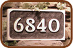 Custom Address Stones