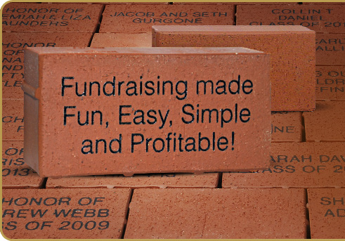 Engraved Gift Bricks® Fundraising