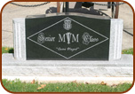 Senior Class Memorial Granite Sign